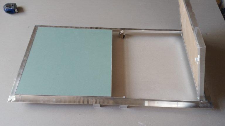Ревизионна вратичка с две вратички